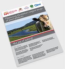 NH Foods Australia Brochure - Cover