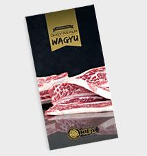 Oakey Premium Wagyu Brochure - Cover